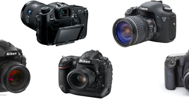 Home / Camera / 5 Best DSLR Cameras in 2013 for You