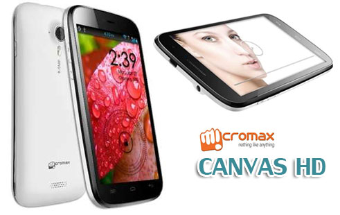 Micromax Canvas HD A116