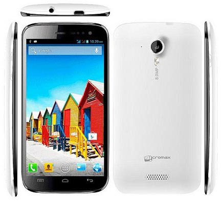 Micromax Canvas HD Camera