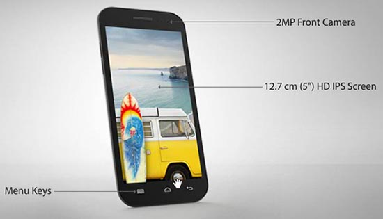 Micromax Canvas HD Price