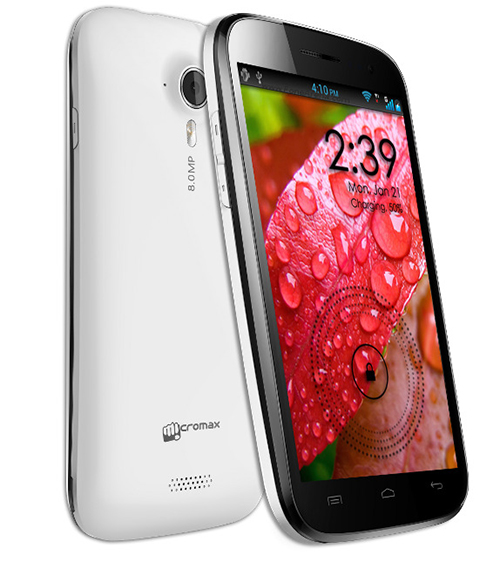 Micromax Canvas HD Specifications
