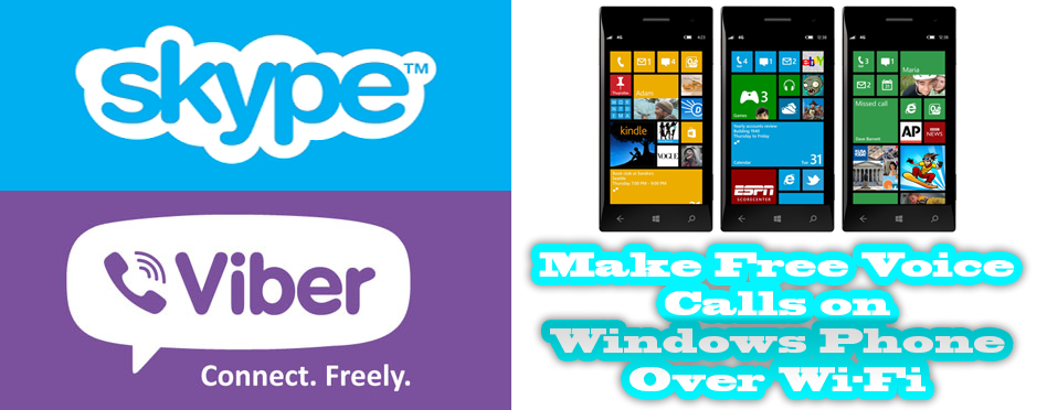 Make Free Voice Calls on Windows Phone Over Wi-Fi
