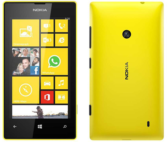 nokia lumia 520 Specifications