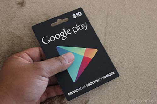 Get Free Google Play Gift Card