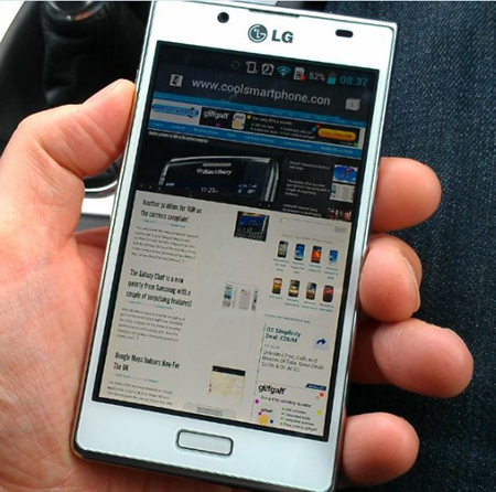 LG Optimus F3 Features