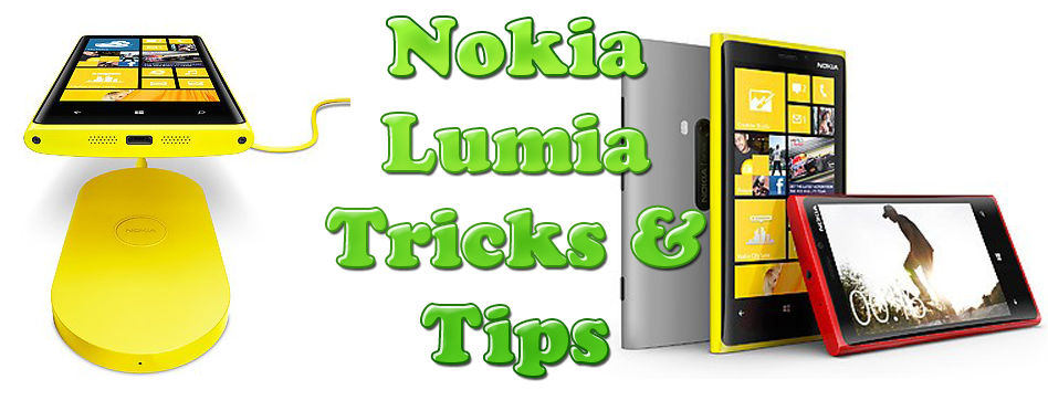 Nokia Lumia Tricks