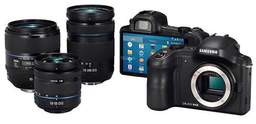 Samsung Galaxy NX Camera Specifications