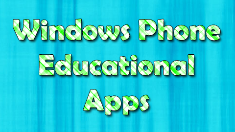Windows Phone Educational Apps