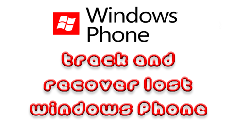 Recover Lost Windows Phone