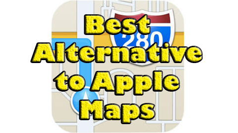 Alternative to Apple Maps