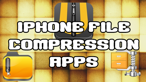 iPhone compression apps