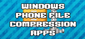 WINDOWS PHONE compression apps
