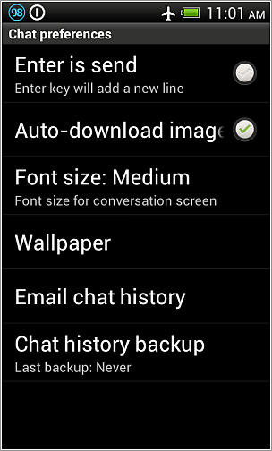 disable WhatsApp auto image download on Android