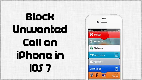 Block Unwanted Call on iPhone